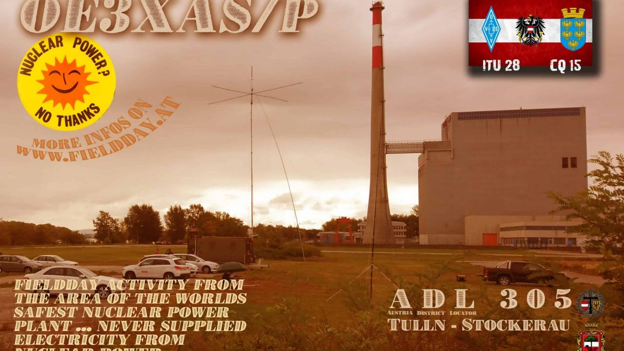 OE3XAS/p ... our club-call for fielddays