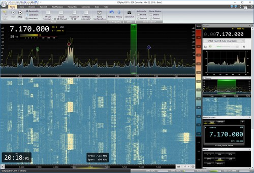 SDRPlay RSP1 & FT-2000 | OE3IDE