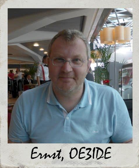 Ernst, OE3IDE