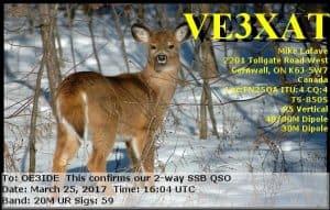 VE3XAT, Canada