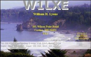 W1LXE, United States