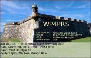 WP4PRS, Puerto Rico