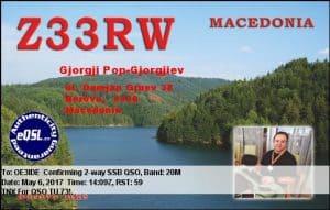Z33RW, Macedonia