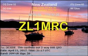 ZL1MRC, New Zealand